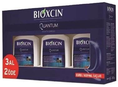 Bioxcin Quantum Kuru ve Normal Saçlar Şampuan 3x300 ml 3 Al 2 Öde Renksiz